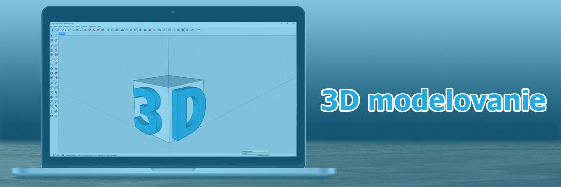 3D Modelovanie - Banner