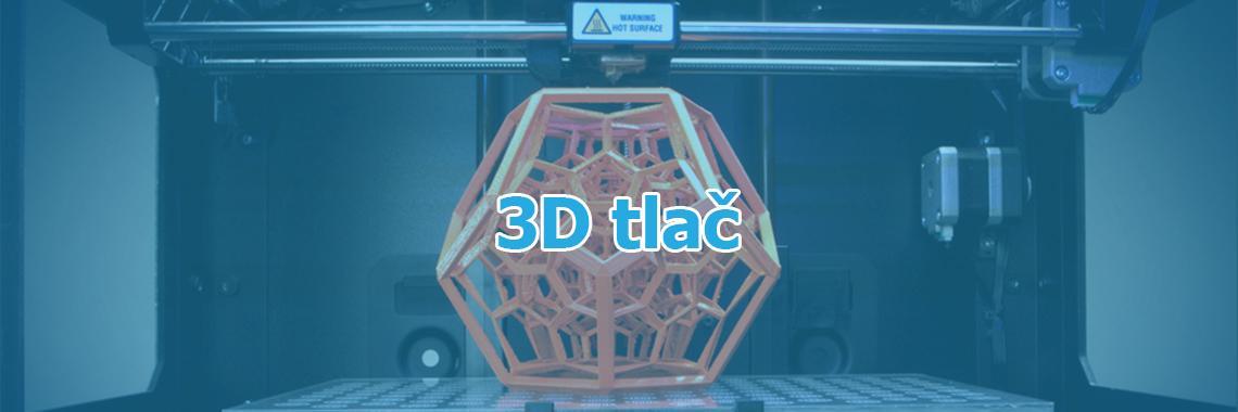 3D tlač - banner